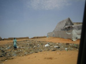 Outskirts of a camp in North Darfur, Sept. 2009